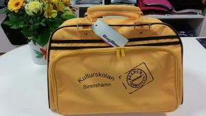Läckert gul och pimpad för Kulturskolan i Simrishamn